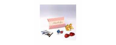 Caja Berlingot - Personalizada con Chocolates Lindt