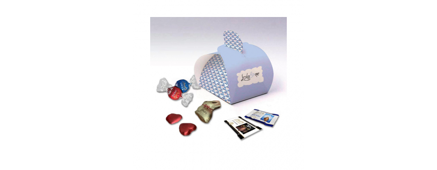 Elegance Box - Personalized with Lindt Chocolates