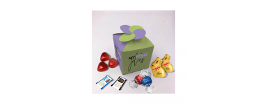 Floral Box - Personalized with Lindt Chocolates
