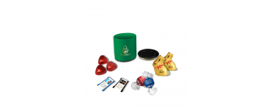 Caixa Redonda Luxo - Personalizada com Chocolates Lindt