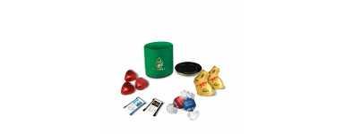 Luxe ronde doos - gepersonaliseerd met Lindt-chocolaatjes