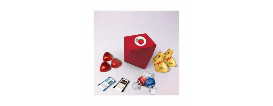 Marquise Box - Personligt med Lindt Chokolade