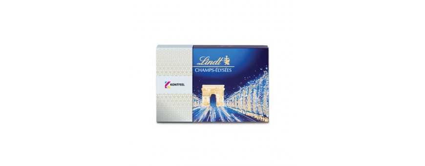 Lindt Champs-Elysées caixa personalizada