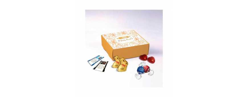 Gourmetæske - Personaliseret med Lindt-chokolade